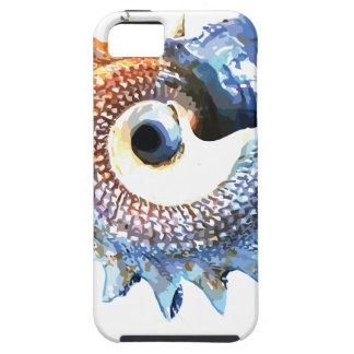 Rainbow Mandala Seashell Golden Spiral Yoga Tee iPhone 5 Cover