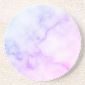 Rainbow Marble Pattern Coaster