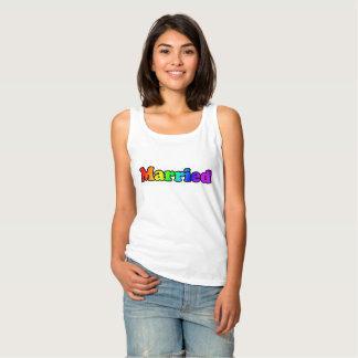 (Rainbow) Married Tank Top