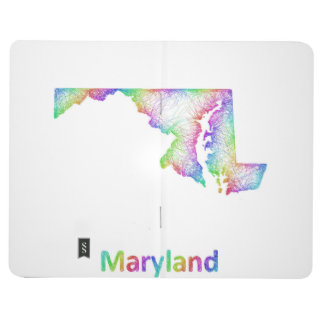 Rainbow Maryland map Journals