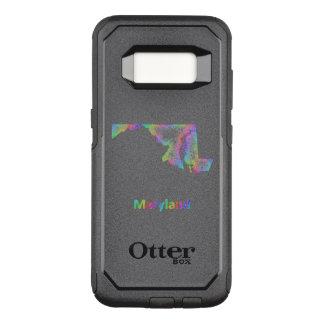 Rainbow Maryland map OtterBox Commuter Samsung Galaxy S8 Case