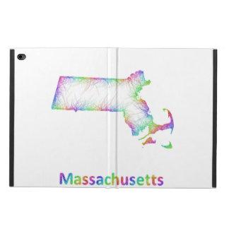 Rainbow Massachusetts map