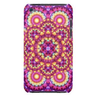 Rainbow Matrix Mandala Barely There iPod Cases