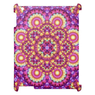 Rainbow Matrix Mandala Cover For The iPad