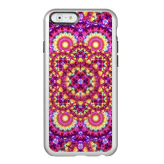 Rainbow Matrix Mandala Incipio Feather® Shine iPhone 6 Case