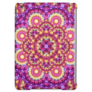 Rainbow Matrix Mandala iPad Air Case