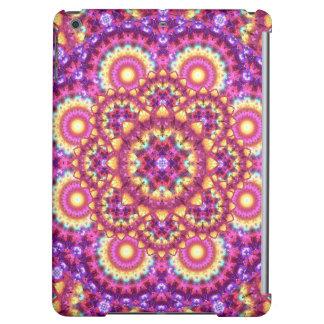 Rainbow Matrix Mandala iPad Air Cover