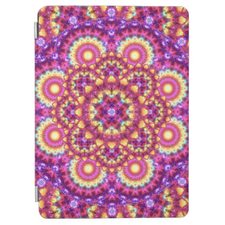 Rainbow Matrix Mandala iPad Air Cover