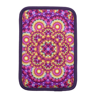 Rainbow Matrix Mandala iPad Mini Sleeve