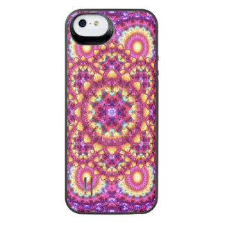 Rainbow Matrix Mandala iPhone SE/5/5s Battery Case