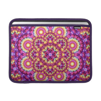 Rainbow Matrix Mandala MacBook Sleeve