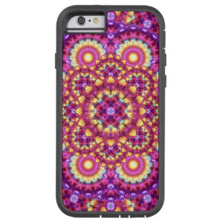Rainbow Matrix Mandala Tough Xtreme iPhone 6 Case