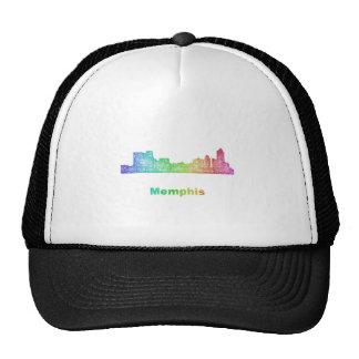Rainbow Memphis skyline Trucker Hat