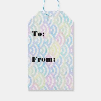 Rainbow Mermaid Pastel Gift Tags