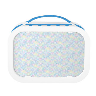 Rainbow Mermaid Pastel Lunch Box