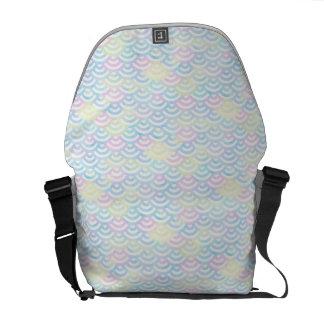 Rainbow Mermaid Pastel Messenger Bag