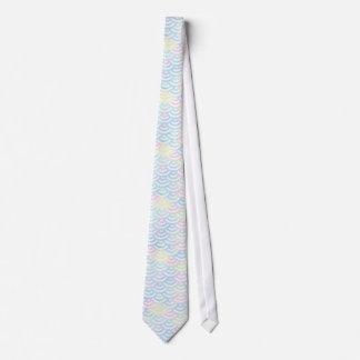 Rainbow Mermaid Pastel Tie