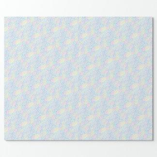 Rainbow Mermaid Pastel Wrapping Paper