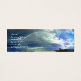Rainbow Mini Business Card