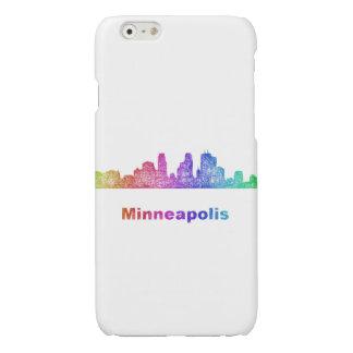 Rainbow Minneapolis skyline