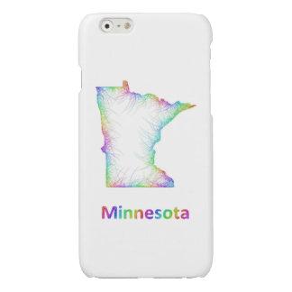 Rainbow Minnesota map