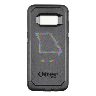 Rainbow Missouri map OtterBox Commuter Samsung Galaxy S8 Case
