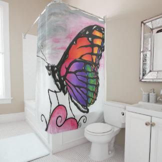 Rainbow Monarch Butterfly Original Fantasy Art