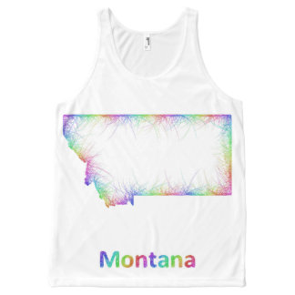 Rainbow Montana map