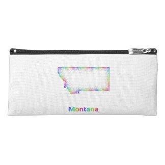 Rainbow Montana map Pencil Case