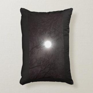 Rainbow Moon Decorative Pillow