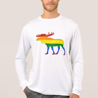 Rainbow Moose T-Shirt