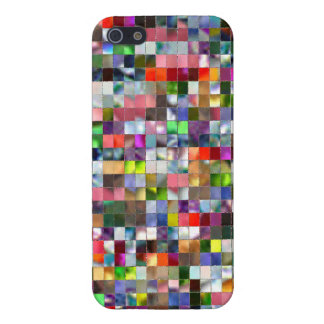 Rainbow Mosaic iPhone 5 Covers