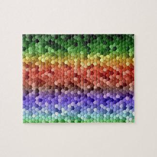 Rainbow Mosaic Jigsaw Puzzle