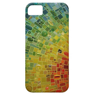 """Rainbow Mosaic Phone Case"" iPhone 5 Cover"