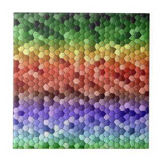 Rainbow Mosaic Tile