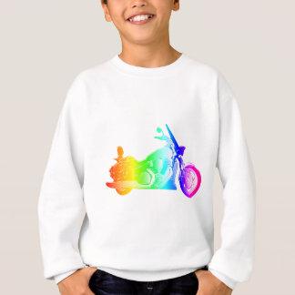 Rainbow Motorcycle #2 Sweatshirt