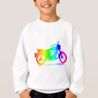 Rainbow Motorcycle #3 Sweatshirt