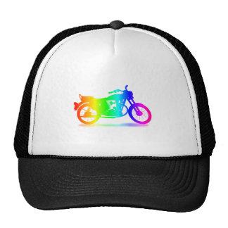 Rainbow Motorcycle #3 Trucker Hat