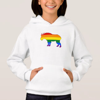 Rainbow Mountain Goat