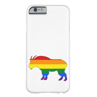 Rainbow Mountain Goat Barely There iPhone 6 Case