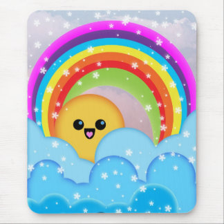 Rainbow Mouse Pad