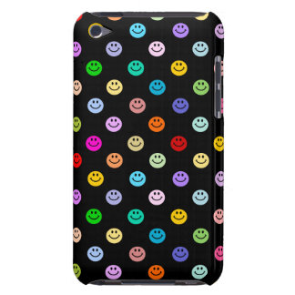 Rainbow Multicolor Smiley Face Pattern Case-Mate iPod Touch Case