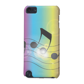 rainbow music iPod touch 5G cover