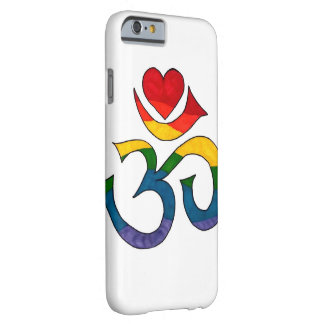 Rainbow Namaste Barely There iPhone 6 Case