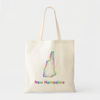Rainbow New Hampshire map