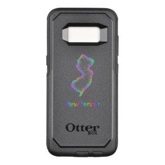 Rainbow New Jersey map OtterBox Commuter Samsung Galaxy S8 Case