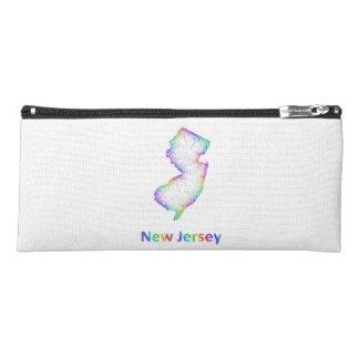 Rainbow New Jersey map Pencil Case