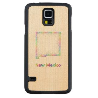 Rainbow New Mexico map Maple Galaxy S5 Case