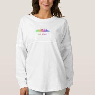 Rainbow New Orleans skyline Spirit Jersey
