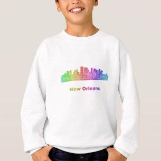 Rainbow New Orleans skyline Sweatshirt